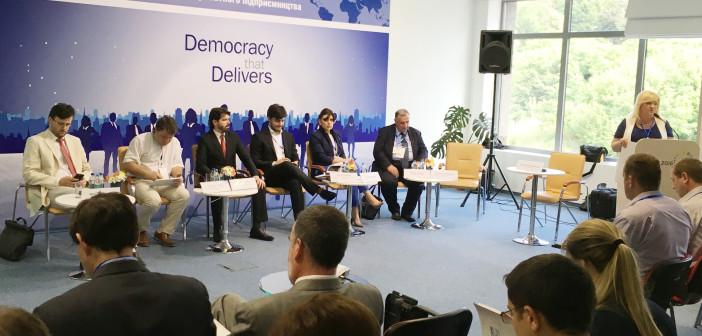 У Києві стартувала міжнародна бізнес-конференція CIPE: акцент на місцевй рівень